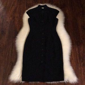 The Calvin Klein black dress